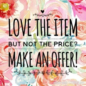 Make An Offer! Bundle and Save!